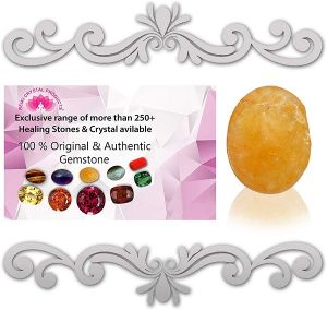 Natural Citrine Topaz/Substitute of Pukhraj Loose Gemstone