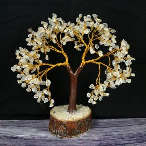 Clear Quartz Tree 300 Beads 11 Inch