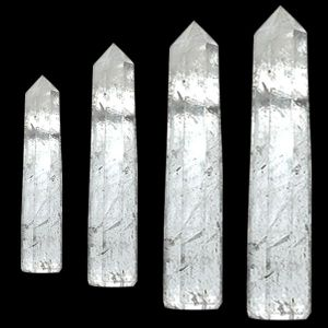 Clear Quartz Crystal Pencil / Obelisks