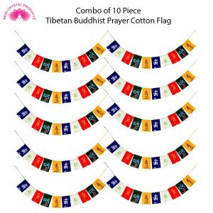 Tibetan Buddhist Prayer Cotton Flags for Car and Home Combo-10
