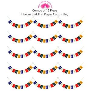 Tibetan Buddhist Prayer Cotton Flags for Car and Home Combo-15