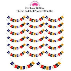 Tibetan Buddhist Prayer Cotton Flags for Car and Home Combo-20
