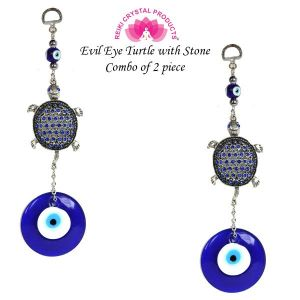Evil Eye Turtle with Stone Combo-2