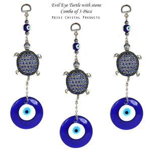 Evil Eye Turtle with Stone Combo-3