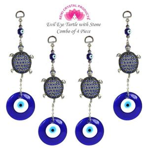 Evil Eye Turtle with Stone Combo-4