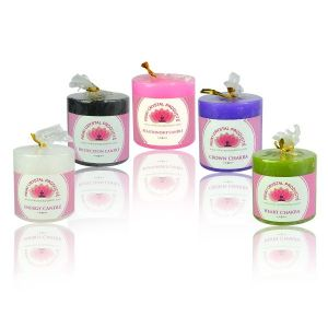 Energized Pillar Candles by Reiki Grand Master for healings - 2 inch size