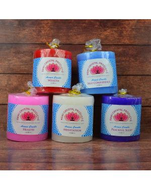 Energized Pillar Candle  (Combo Pack of 5 pc)