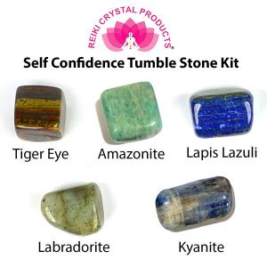 Self Confidence Tumble Stone Kit