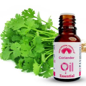 Reiki Crystal Products Coriander Essential Oil - 15 ml, Aroma Therapy