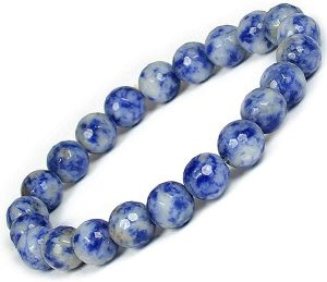 Sodalite Certified 8 mm Faceted Bracelet