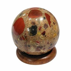 Fancy Jasper Ball / Sphere