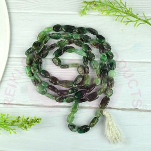 Emrald Tumble Bead  Mala / Necklace