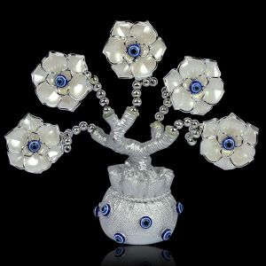 Vastu Feng Shui Evil Eye Tree for Good Luck, Gift & Decorative Showpiece