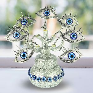 Eye Evil Eye Tree for Good Luck, Gift & Decorative Showpiece