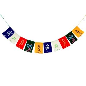 Tibetan Buddhist Prayer Cotton Flags for Car and Home