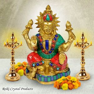 Brass laxmi Statue for Diwali, Home Decor-1400-1450 Gram Approx