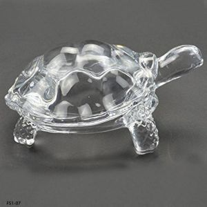 Glass Crystal Turtle / Tortoise for Feng Shui and vastu