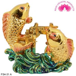Vastu / Feng Shui Double Fish For Good luck And Prosperity
