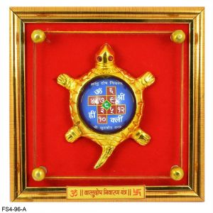 Feng Shui Yantra, Vastu Yantra On Turtle / Tortoise For Wealth And Success And Achievement