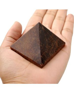 Garnet Pyramid for Reiki Healing / Grid and Vastu Correction