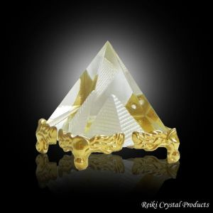 Glass Crystal Pyramid for Positive Energy-Combo-1