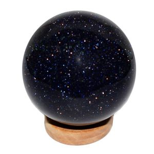 Goldstone Blue Ball / Sphere