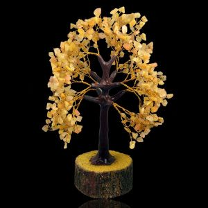 Golden Quartz Natural Chips 500 Beads Tree