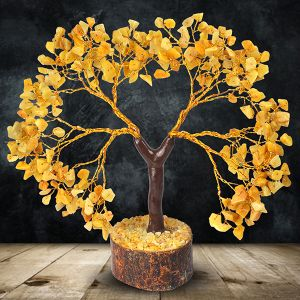Golden Quartz Tree 300 Beads 11 Inch