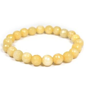 Golden Quartz 8 mm Faceted Bracelet