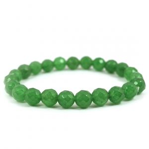 Green Aventurine 8 mm Faceded Bracelet