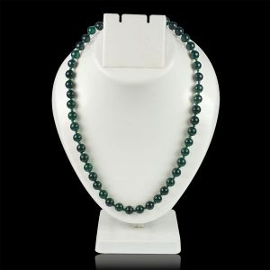 Green Aventurine 8 mm Round Bead Mala & Necklace (108 Beads & 32 Inch Approx)