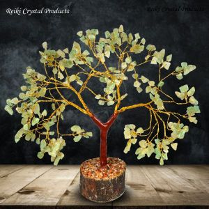 Green Jade Natural Chips 300 Beads Tree