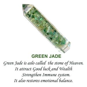 Green Jade Orgone Jumbo Pencil