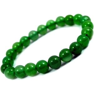 Green Onyx 8 mm Faceted Bracelet