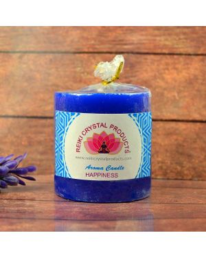 Energized Pillar Candle  for Happiness Purpose