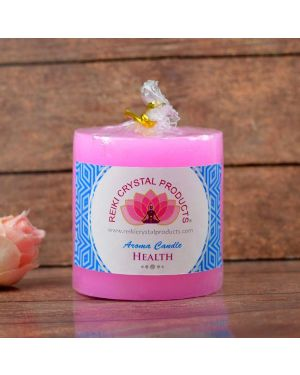 Energized Pillar Candle for Health Purpose