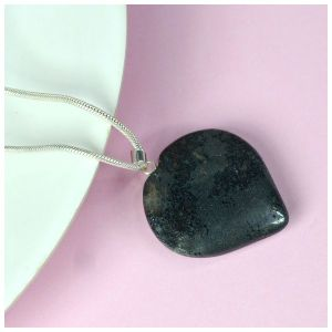 Hematite Heart Shape Pendant - Size 25-30 mm approx