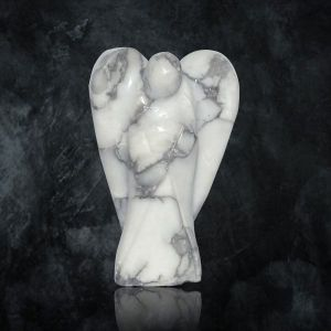 Howlite Angel