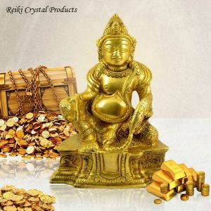 Lord of Treasures Lord Kuber Brass Statue
