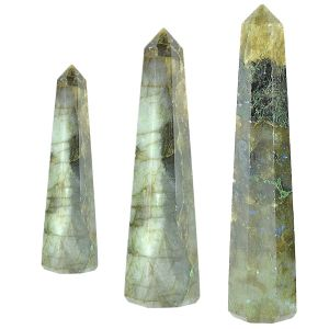 Labradorite Crystal Pencil / Obelisks