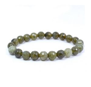 Labradorite 8 mm Faceted Bracelet