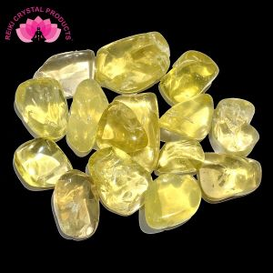 Lemon Quartz Tumble Stone