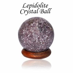 Lepidolite Ball / Sphere