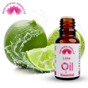 Reiki Crystal Products Lime Essential Oil - 15 ml, Aroma Therapy