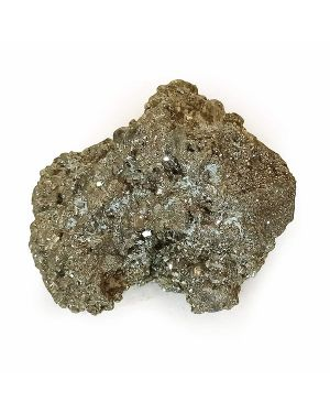 Natural Pyrite Raw/Rough Cluster/Peru Pyrite for Healing 900 Gram Approx (Color : Golden)