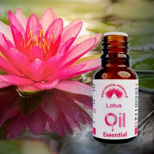 Reiki Crystal Products Lotus Essential Oil - 15 ml, Aroma Therapy