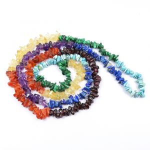 7 Chakra Chip Mala / Necklace