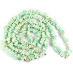 Amazonite Chip Mala / Necklace