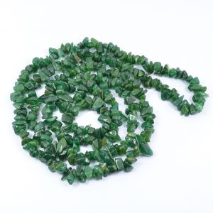 Green Aventurine Chip Mala/Necklace