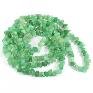 Green Jade Chip Mala / Necklace